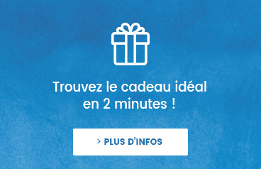 Trouvez le cadeau idéal en 1 minute !